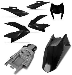 Kit Carenagem Completa Nxr Bros 150 Preto 2010 Pro Tork