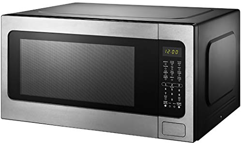 Black+Decker EM262AMY-PHB 2.2 Cu. Ft. Microwave with Sensor Cooking, Stainless Steel