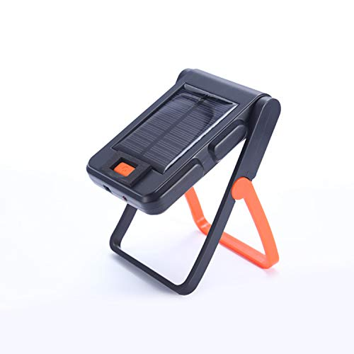 Portable LED Work Light Solar and USB Rechargeable with 2...