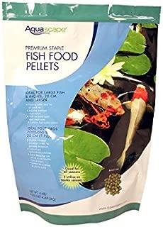 Aquascape Premium Staple Fish Food Pellets for Large Pond Fish, Large Pellet, 4.4 pounds   98869