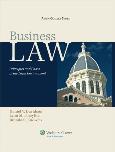 Business Law: Principles & Cases in the Legal Environment...