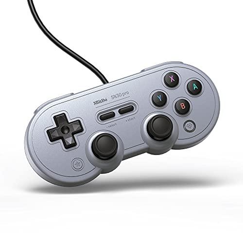 8Bitdo Sn30 Pro USB Gamepad Gray Edition [ [Importación alemana]