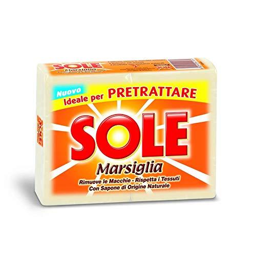 Sole Marseille Lot de 6 paquets de 2 savons de 250 g 12 savons 3000 g