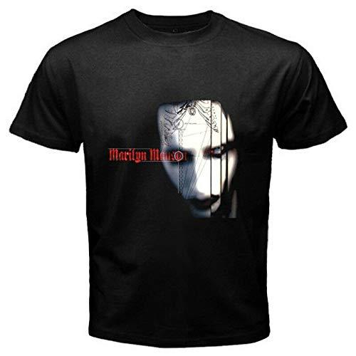 New Marilyn Manson *Satanic Face Rock Icon Men's Black T-Shirt Size S to 3XL