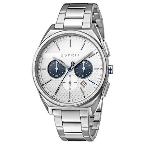 Esprit ES1G062M0055 Slice Chrono Silver Herrenuhr Chronograph