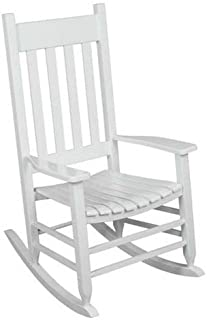 Terrific Amazon Com White Rocking Chairs Chairs Patio Lawn Camellatalisay Diy Chair Ideas Camellatalisaycom
