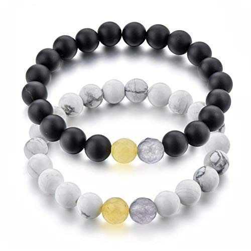 NA Armband SchmuckAttractto Stretch Paar Armband Handgemachte Schmuck Perlen Armband