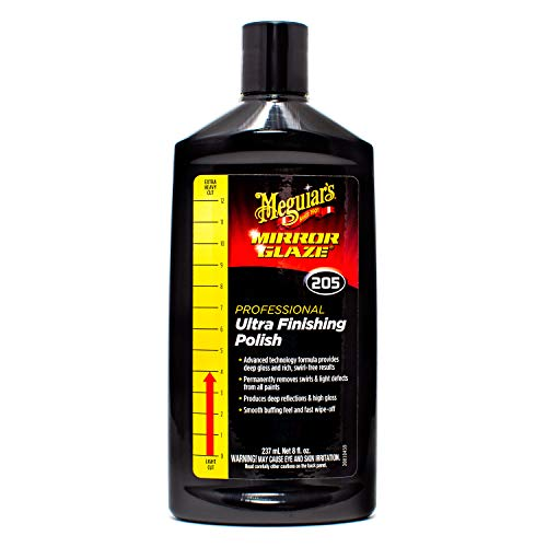 Meguiar#039s M20508 Mirror Glaze Ultra Finishing Polish 8 oz