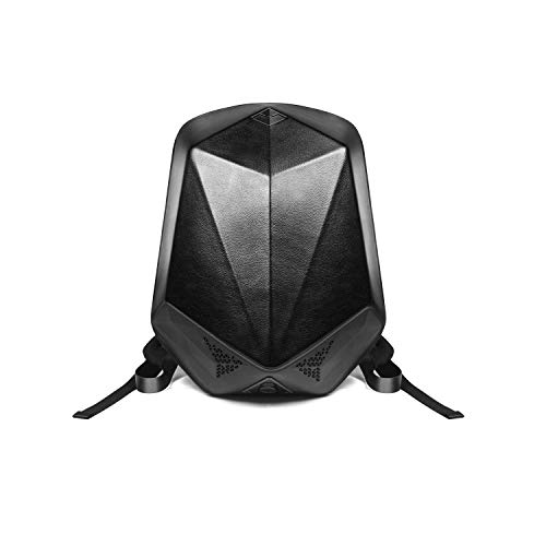 bbom 1712111100Música Mochila (Poliuretano), Dos Bluetooth–Altavoces HiFi y una Power Banco Integrado, Anti Robo de Cremallera, Impermeable Exterior Negro