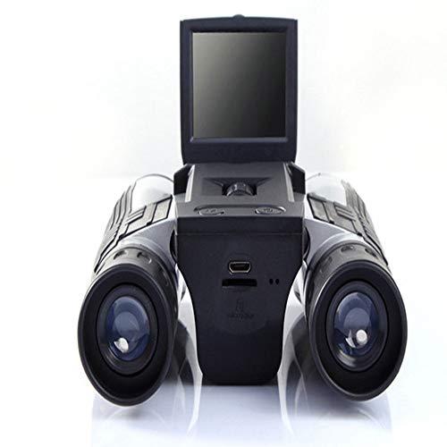 FGKING Prismáticos Digitales, prismáticos multifunción, prismáticos con función de cámara de Video, prismáticos para conciertos Teatro Ópera Senderismo Acampar Viajar