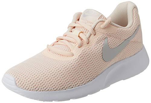 Nike Damen Sneaker Tanjun Laufschuhe, Mehrfarbig Guava Ice Vast Grey White 800, 42 EU
