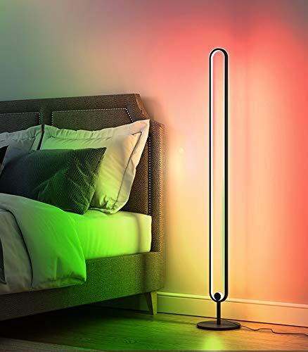 Ydshyth Led Stehlampe Dimmbar 20w RGB Stehleuchte Mit Fernbedienung, Für Wohnzimmer Schlafzimmer Farbwechsel Standllampe Lichtsaeule Farbtemperaturen & Helligkeit Stufenlos