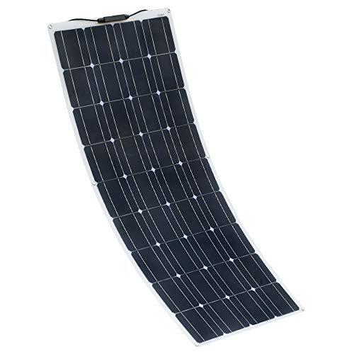 XINPUGUANG Panel Solar Flexible 100W 18V monocristalino fotovoltaico PV Solar Panel Module Compatibilidad con 18V y Dispositivos Inferiores