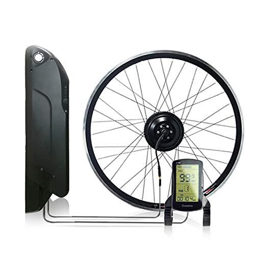 OUYA Kit de conversión de Bicicleta eléctrica de 12.8AH 350W con batería...