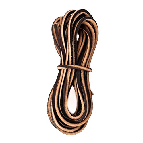 Leather Boot Laces - USA Work Quality - Nicks Boots Heavy Duty Lace