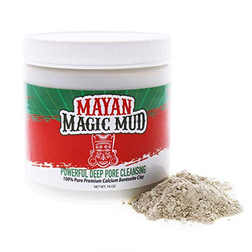 Powerful Deep Pore Cleansing Clay by Mayan Magic Mud for Unisex - 16 oz Cleanser