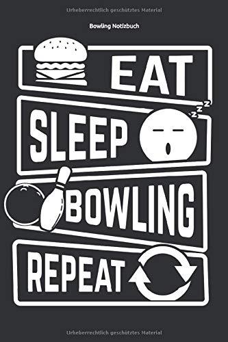 Bowling Notizbuch: Ein cooles Notizbuch für Bowling Spieler