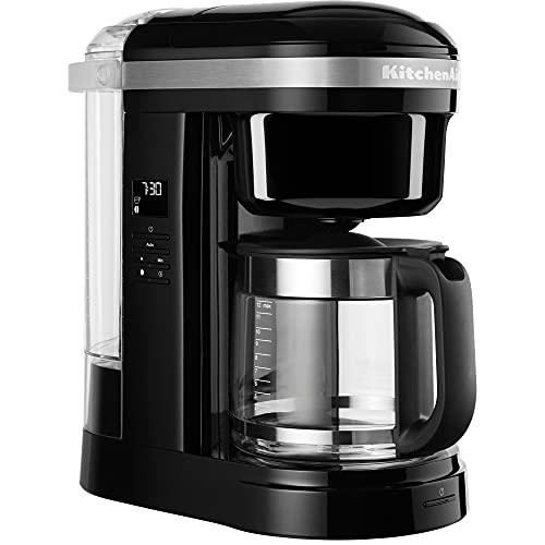 KitchenAid Machine à café CAFETERA DE Goteo DE 1,7 L, Negro Ónix