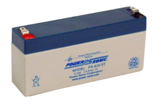 Power Sonic pbq 3.2-6 6 Volts Batteries au Plomb