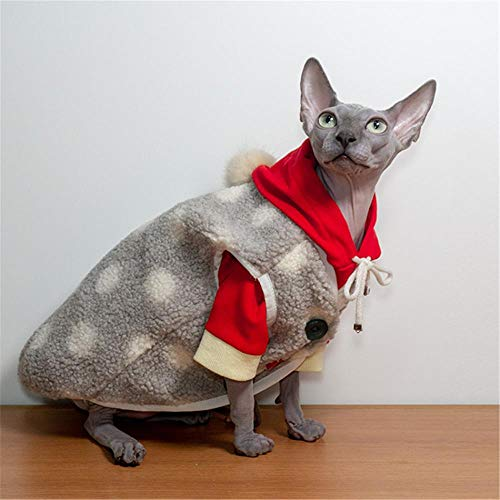 NELIT Winter Warm Sphinx Cat Ropa-Gris Vest_L.