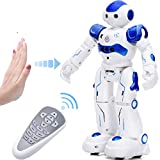 KingsDragon Robot Toys RC Robot for Kids Rechargeable Intelligent Programmable Robot with Infrared...