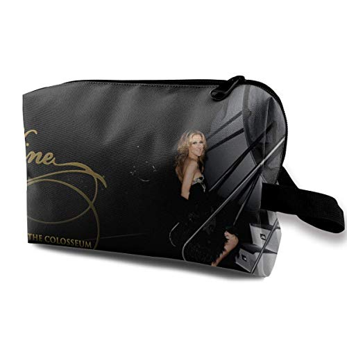 Bolsa de aseo Celine Dion Bolsa de cosméticos multifunción Bolsa portátil para bolsa organizadora de viaje