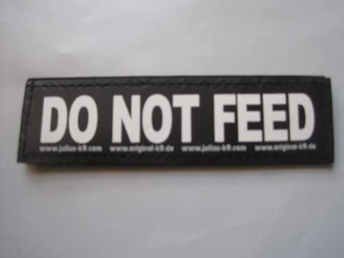 DO NOT Feed Large Package of 2 Julius K9 Labels for K 9 Harnesses product image