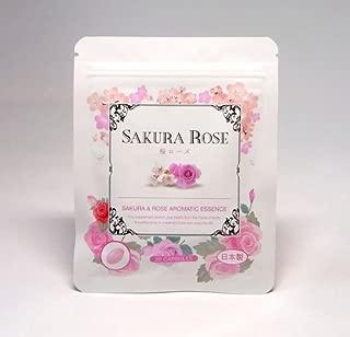 濃縮生サプリ 桜ローズ 30粒入り カプセルから香る濃厚成分 桜とローズの香り