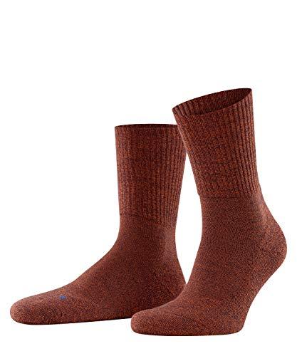 FALKE Unisex Socken, Walkie Light U SO-16486, orange (coppercoin 8937), 46-48
