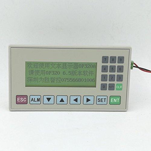 Text Display md204l op320-a Panel Display Bildschirm HMI mit RS232/RS422/RS485Für verschiedene SPS Modbus 3x 4x unterstützt mit Kommunikation Kabel