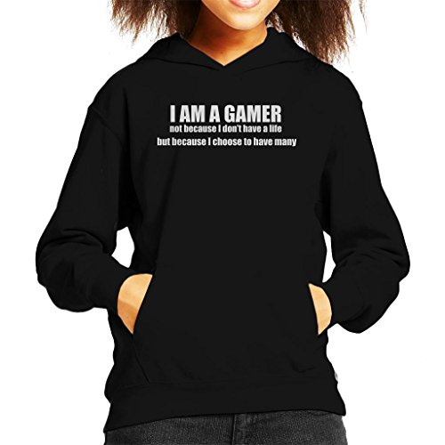 Cloud City 7 I Am A Gamer Because I Choose To Have Many Lives Kid