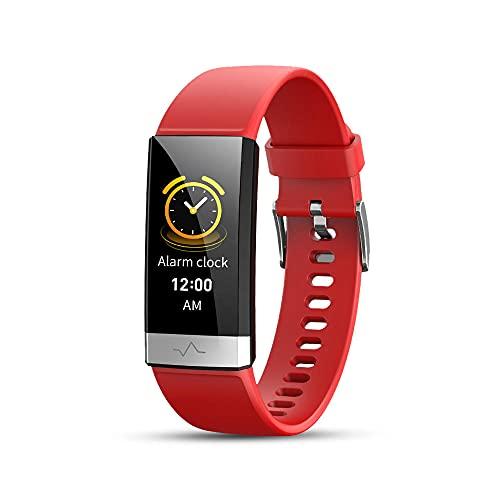 Pulsera Inteligente, Rastreador de Fitness Tracker Tracker Salud Deportes Reloj Deportivo con Ritmo CardíAco Y Monitor de SueñO Pulsera Inteligente Pulsera de CaloríAs PedóMetro para NiñOs Y NiñAs