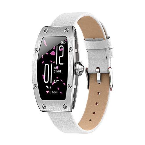 HFGH K18 Femenino Smart Watch HD Color Color Pantalla Menstrual Ciclo De Teléfono Información del Teléfono Recordatorio Rastro Cardíaco Y Monitoreo De La Presión Arterial Tracker Fitness
