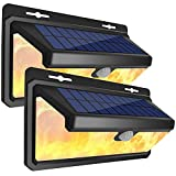 KKSY Luz Solar al Aire Libre Sensor de Movimiento Lámpara de...