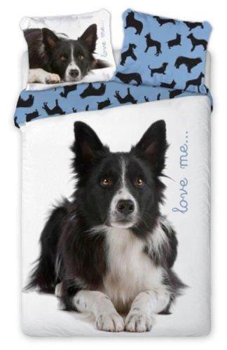 SaYes 2-TLG Jugend Bettwäsche Best Friends Hund 135x200 cm + 70x80 cm 100% Baumwolle