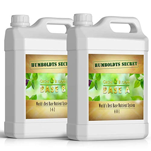 Humboldts Secret Base A & B Bundle – World's Best Base Nutrient System...