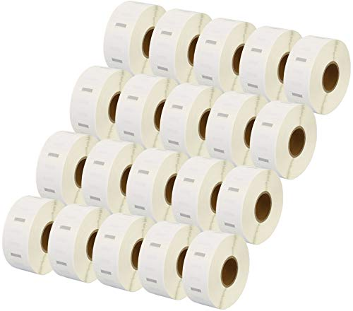 20 Rolls S0929120 Labels Compatible for Dymo//Seiko 25 x 25mm 750 labels per roll