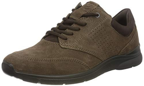 ECCO Herren IRVING Sneaker Shoe, Braun (DARK CLAY/COFFEE), 39 EU
