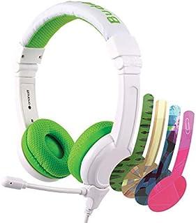 ONANOFF BuddyPhones School+ Safe Audio for Kids, School Headphones, High-Performance, BeamMic, Detachable BuddyCable, Ant...