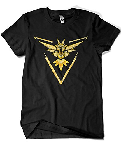 1560-Camiseta Pokemon Pokemon Go Team Instinct (Legendary P,)