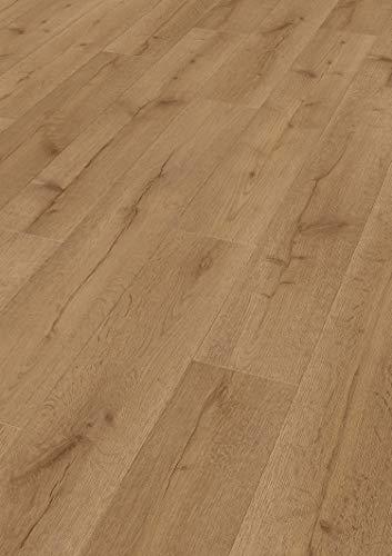 moderna Laminat Eiche 328mm breit | Eiche Pure Bodenbelag natürliche Optik ✓Kombinierbar mit Ausführung in Breite 198mm ✓einzigartiger mix & match Look | Variation Laminat Eiche 328x1288mm | 2,535qm