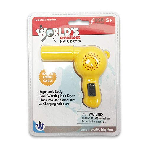 Gadgets Westminster - World's Smallest Hair Dryer