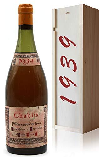 Coffret Chablis 1939 - P Misserey & Frère - Vin Blanc- 75cl - AOC - Bourgogne