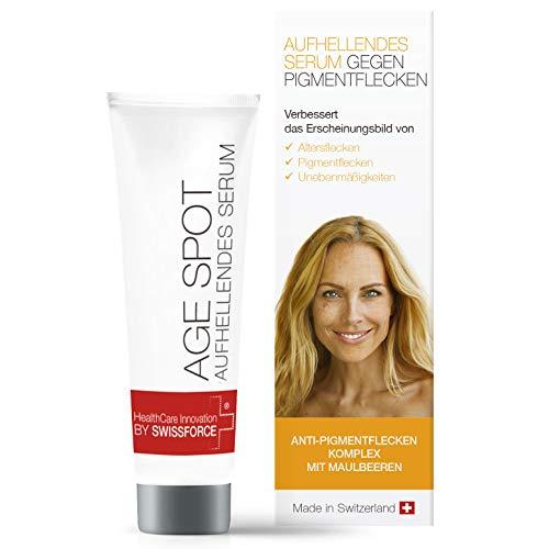 Swissforce Age Spot Whitening Cream 30 ml - Kresse Salbe Altersflecken und Pigmentflecken entferner