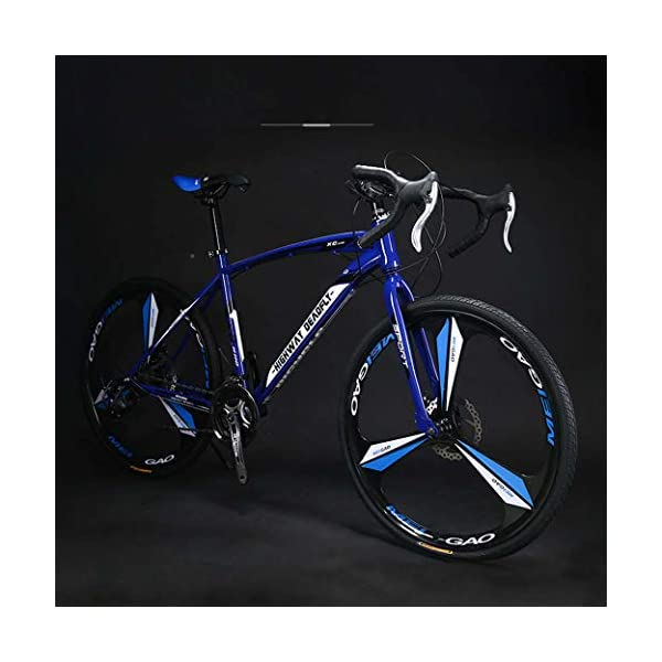 Road Bikes ZTYD 26-Inch Road Bicycle, 27-Speed Bikes, Double Disc Brake, High Carbon Steel Frame, Road Bicycle Racing, Men's And Women Adult-Only [tag]