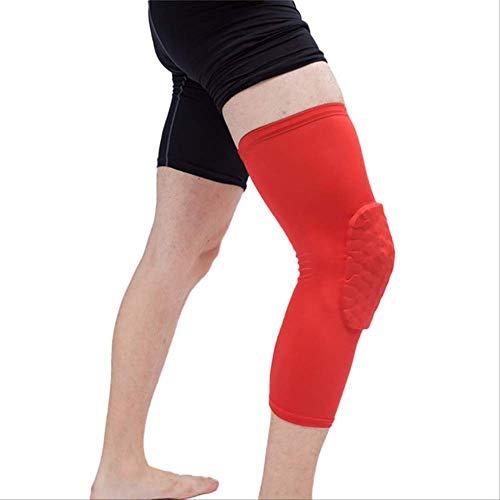 Mhsm Ginocchiere da pallacanestro, per adulti, per calcio, gambe, gomiti, protezione L D