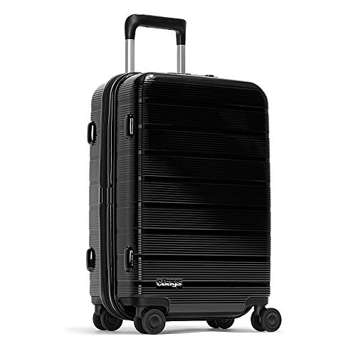 eBags Fortis Pro USB Carry-On Spinner 22 Inch (Black)