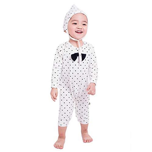 Teeker Unisex Baby Jumpsuit Cotton Onesies Baby Romper Long Sleeve Bodysuit...