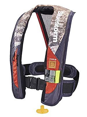 Bluestorm Gear Atmos 40 Inflatable PFD Life Jacket (Legendary Camo) | | US Coast Guard Approved Automatic/Manual Life Vest for Adults