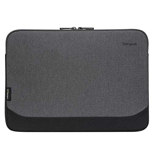 Targus Cypress Sleeve Computer Cover with EcoSmart Designed for Business Traveler and School fit up to 13-14-Inch Laptop/Notebook, Gray (TBS64602GL)